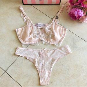 Victoria Secret Dream Angels Bra Set size 34DD/M
